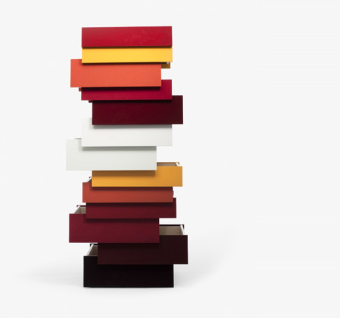 established and sons stack, red palette